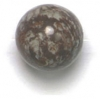 Semi-Precious 10mm Round Brown Agate
